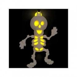 Colar Florescente esqueleto