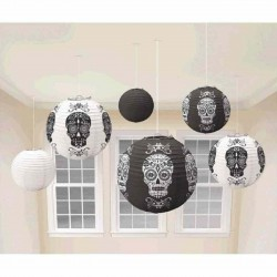 6 lanterns day of the dead pap