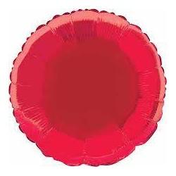 """Balão Foil 18"""" red"""