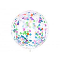 1 Balão com confetis