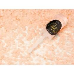 Confettis push pop mix peach