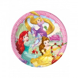 8 Pratos Princess Dreaming...