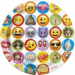 Pratos 23 cm Emoji