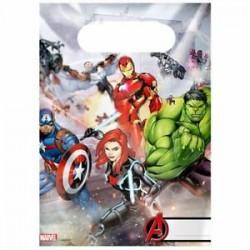 6 sacos oferta Avengers
