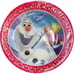 Pratos Frozen 19.5cm 8uni