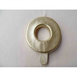 Vela N 0 9.5cm Dourado