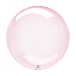 Balão Clearz Crystal Rosa...
