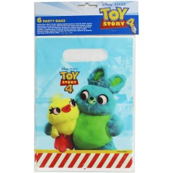 6 sacos oferta Toy Story