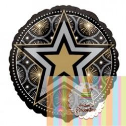 Balão Estrela Brilhante