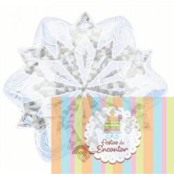 Balão Foil Floco Gelo...