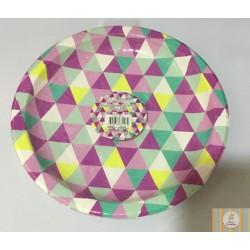 6 pratos trinagulos 9