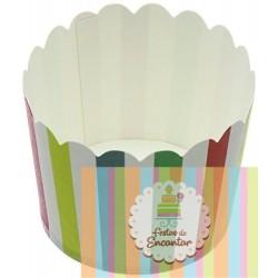 Copos para doces multicolor