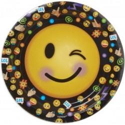 8 pratos 22.9 cm Smiley...
