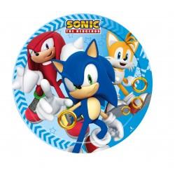 8 pratos 18 cm Sonic