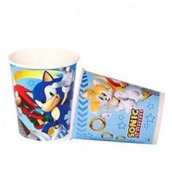 8 copos Sonic 220ml