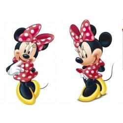 2 Figuras Minnie 30cm