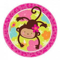 Pratos Monkey Love