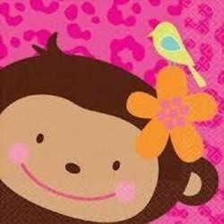 Guardanapos Pequenos Monkey...