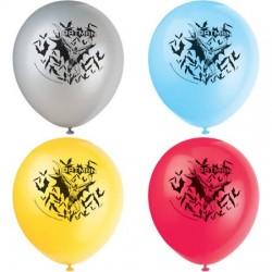 8 balões 12'' Batman