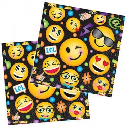 16 guardanapos smile