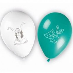 8 Balão Latex Vaiana