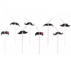 8 Palhinhas Moustache