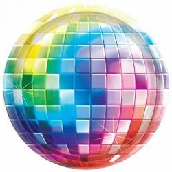 8 Pratos 26 cm Disco Fever