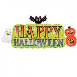 Super Shape Halloween Banner