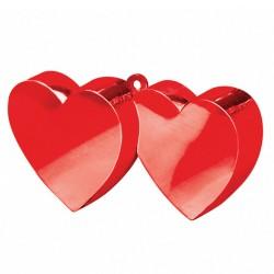 Peso para balões corações...