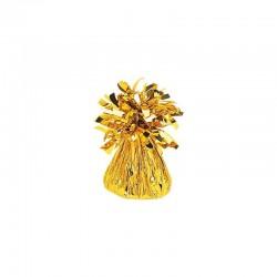 Peso para balões dourado