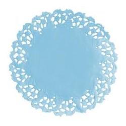 Naperon redondo azul 10cm