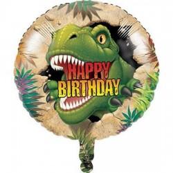 balão foil 18'' dinossauros