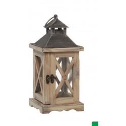 Lanterna de madeira...