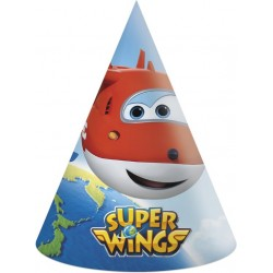 6 chapéus superwings