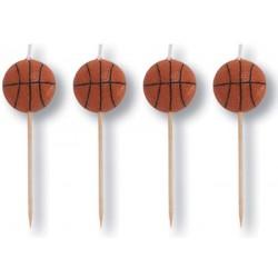 4 velas basquetebol