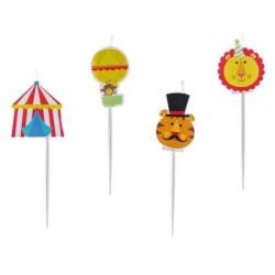 Velas Mini figuras circus