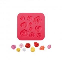 Delícia Molde Silicone Rosas