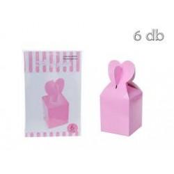 Caixa Ofertas Rosa 6 uni...