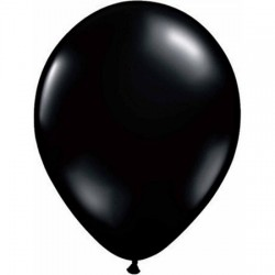Balão Latex Qualatex Preto 11