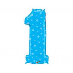 Balão Foil Qualatex 38 Nº 1...
