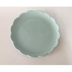 Prato Sobremesa azul