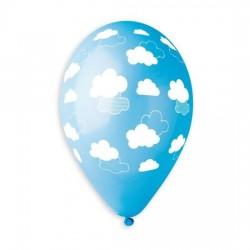 Balão Nuvens 13Azul