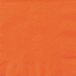 Guardanapos laranja 25uni...