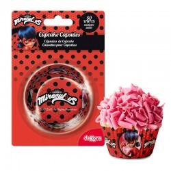 Formas Cupcakes LadyBug