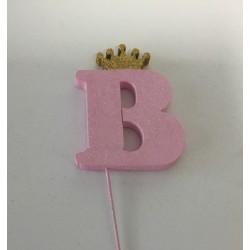 Letra B 10 cm esferovite...