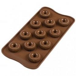 Molde Silicone Choco Crown 3D