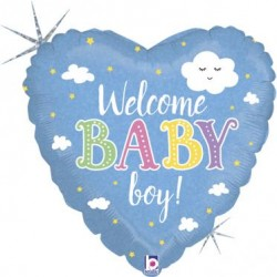 Balão standard welcome baby...