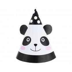 6 chapéus Panda