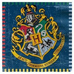 16 Guardanapos Harry Potter
