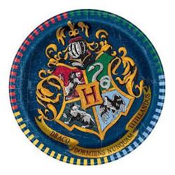 8 Pratos 20 cm Harry Potter